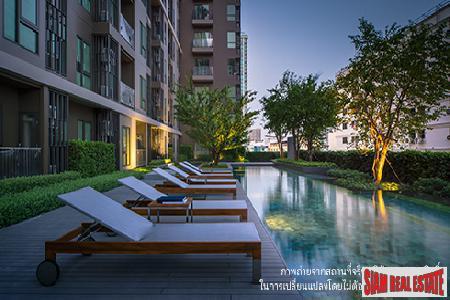 Residential Condos Ready to Move in at Huai Khwang MRT