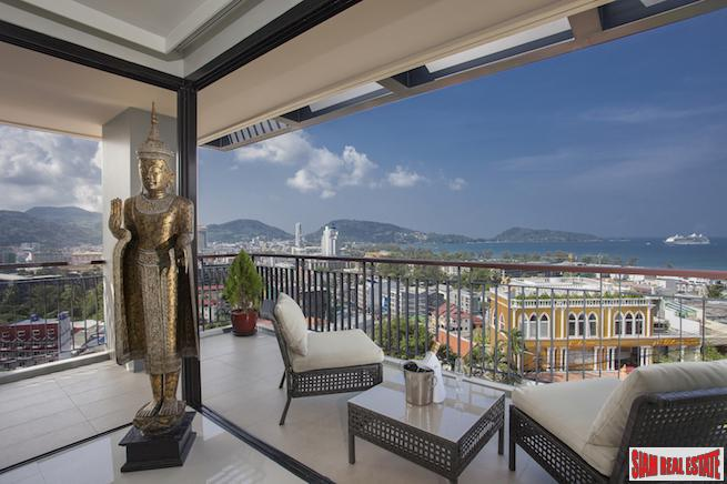 Exceptional Corner Penthouse with Breathtaking Sea Views in Patong