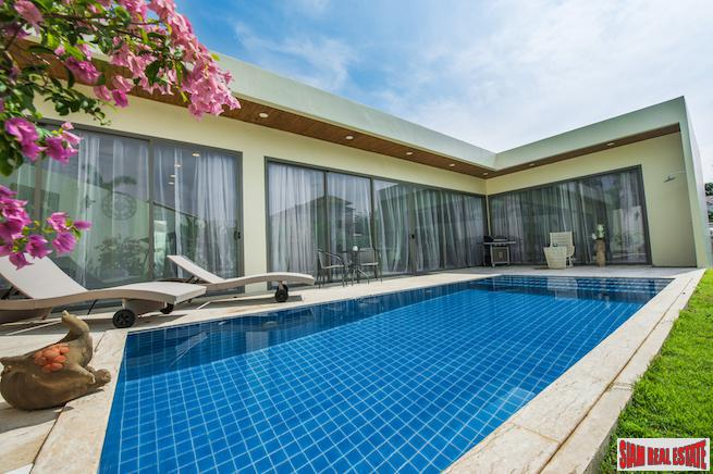 Beautiful Contemporary Two Bedroom Pool Villas only 500 Meters to Rawai Beach