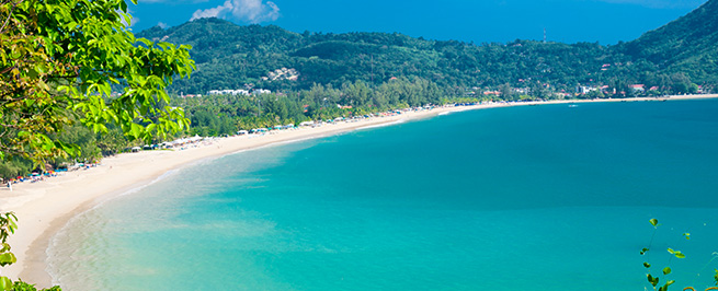 Example of Phuket Beach