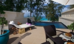Two Bed Beach Villa with Private Pool, Roof Terrrace