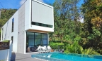 Phuket: Three Storey Quality Modern New Pool Villa in Tropical Surroundings at Rawai
