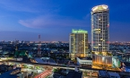 Bangkok: Large Quality Studio Condo Unblocked View on High Floor at Sky Walk Residences, BTS Phra Khanong