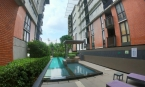 Bangkok: Large 1 Bed Condo for Sale in Low-Rise Building with Serene Surroundings at Sukhumvit 107, BTS Bearing