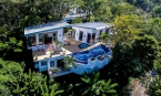 Phuket: Unique Two Storey Sea View Pool Villa for Sale on the Hillside Overlooking Kamala Beach