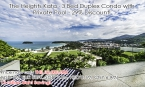 Phuket: The Heights Kata Beach | Stunning Sea Views from this Three Bedroom Condo